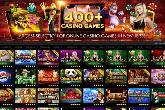 casino games online nj