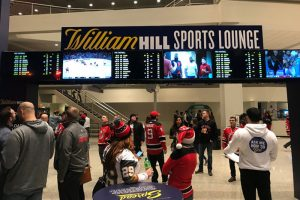 William Hill Sports Lounge Makes Its Debut At NJ Devils' Prudential Center