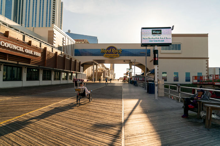 Hard Rock AC President Hints That A New Retail Sportsbook Will Open End Of March