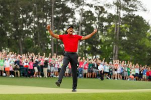 Tiger Woods Roars At The Masters And FanDuel NJ Sportsbook Pays Out Millions