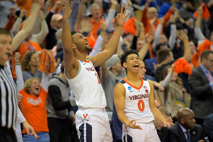 Virginia Opens As Small Favorite Over Texas Tech In NCAA Tournament Title Game