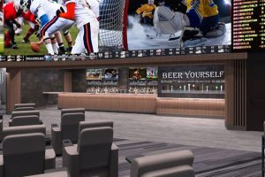 Self-Serve Beer And Sports Betting? A Match Made In Heaven At Bally's Sportsbook