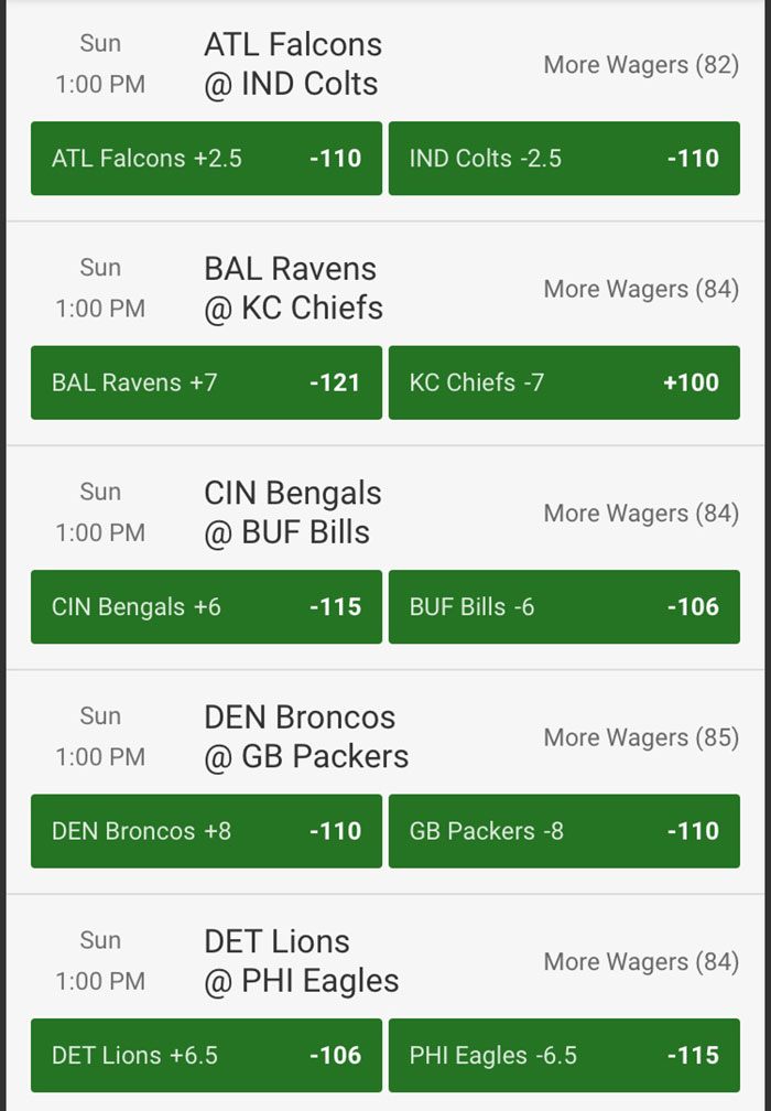 nfl week 3 odds unibet sportsbook