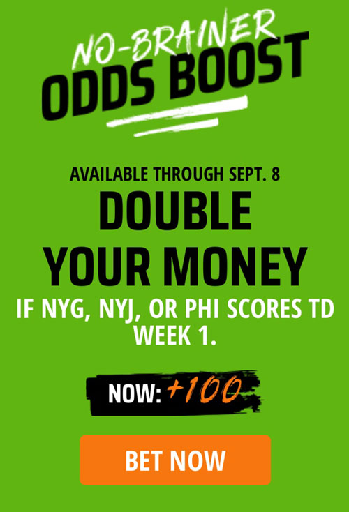 NFL Week 1 Best Bets, Props, Tips At NJ Online Sportsbooks