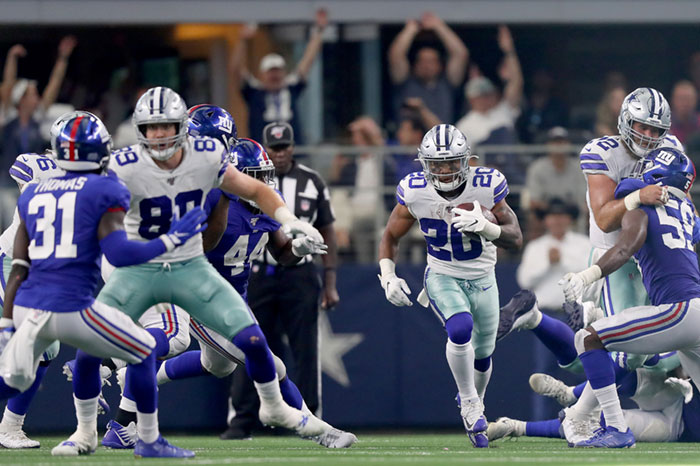 Cowboys Vs. Giants Odds: New York Big Underdogs To Turn The Season Around