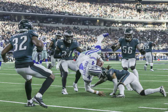Eagles Vs. Cowboys: Tight Lines At NJ Sportsbooks Are No Surprise