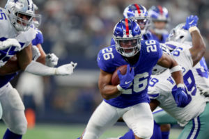 Jersey Sides & Totals: Cowboys Vs. Giants And Monday Night Blues At MetLife Stadium