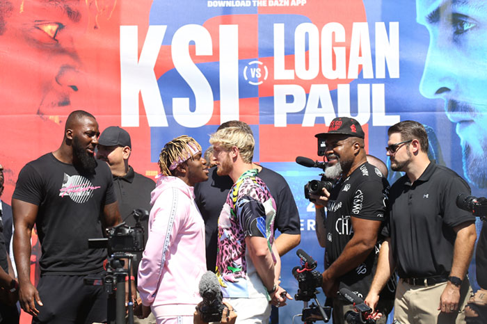 You Can Actually Bet On the KSI Logan Paul Fight At Legal NJ Sportsbooks