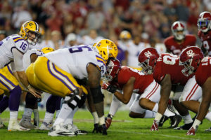 Jersey Sides & Totals: LSU Faces Alabama And NJ Sportsbooks Are Ready For Action
