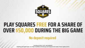 DraftKings Sportsbook Host $54,000 Free Big Game Squares Contest