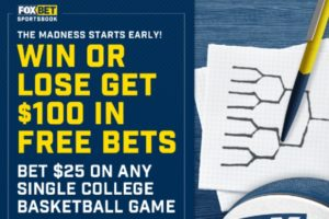How To Earn $100 In Free March Madness Wagers From Fox Bet