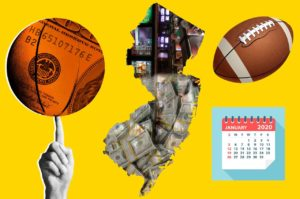 New Jersey Is America's Sports Betting Champion In January