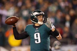 An NJ Sports Betting Story Featuring QB Nick Foles And The Chicago Bears