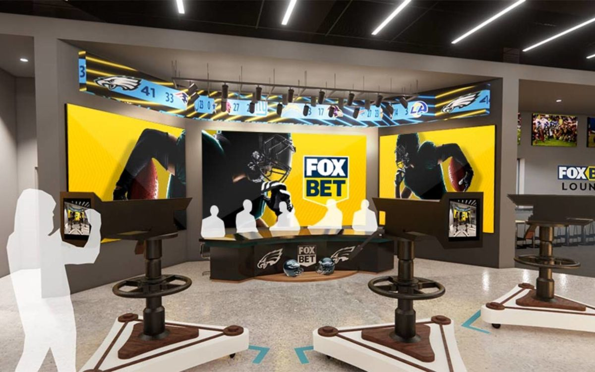 Fox Bet Studio Opening At The Linc As Eagles Gear Up For Home Opener