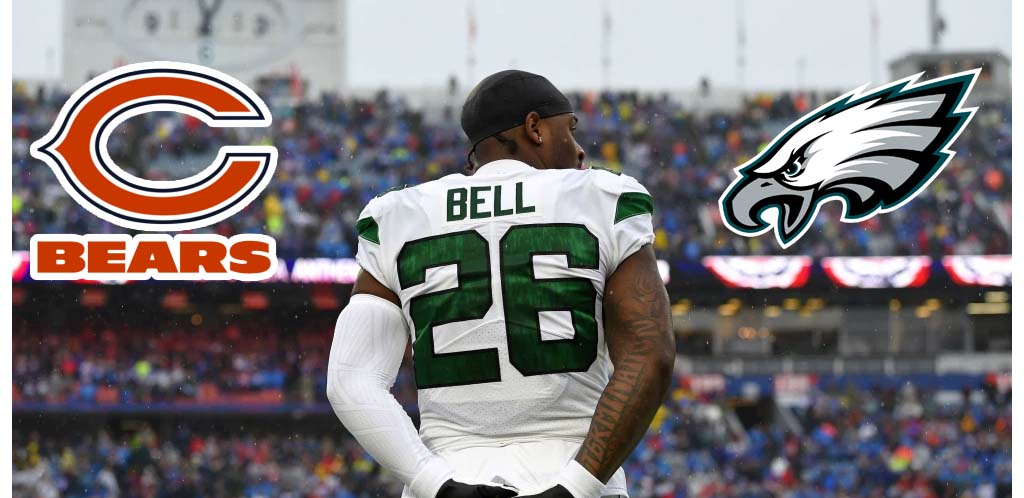 BetMGM Posts NFL Odds On Where Le'Veon Bell Will Land; Eagles Are +500