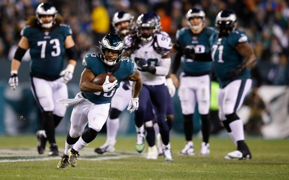 Football Five: Philadelphia Eagles Running Back Into Prime Time Spotlight