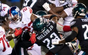 NFL Week 10 Odds: Eagles And Giants Meet Again In NFC East Rematch