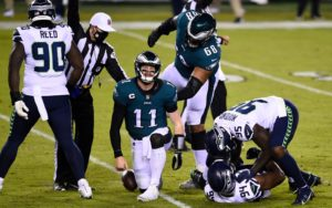 NFL Week 13 Odds: Wentz And Eagles Looking Up At First-Place Giants