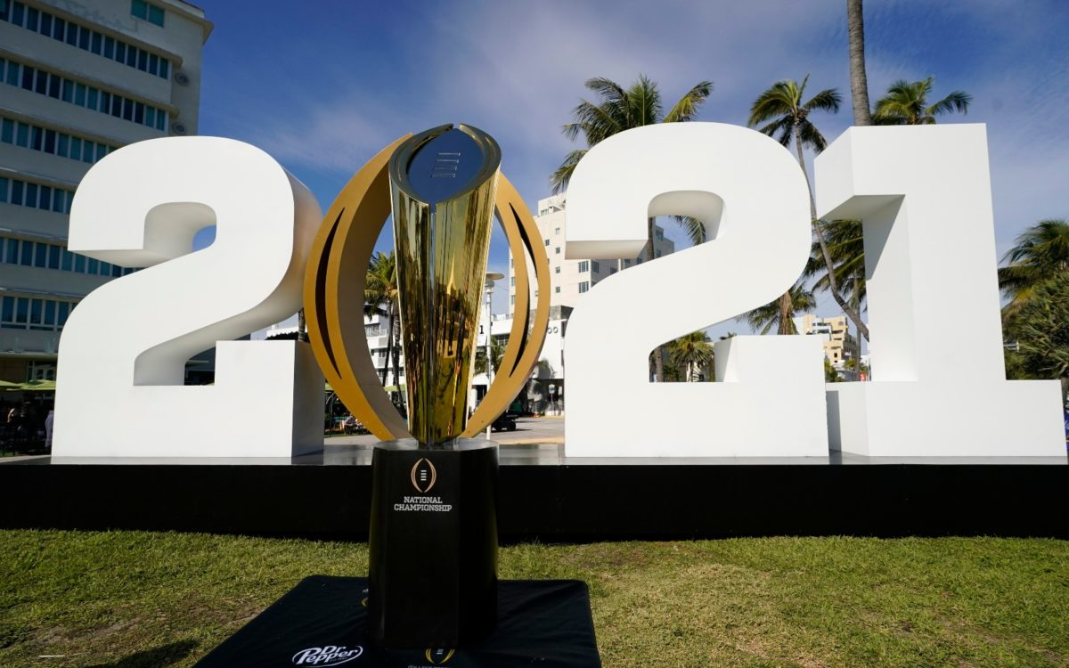Looking At Alabama Versus Ohio State National Championship Game Odds
