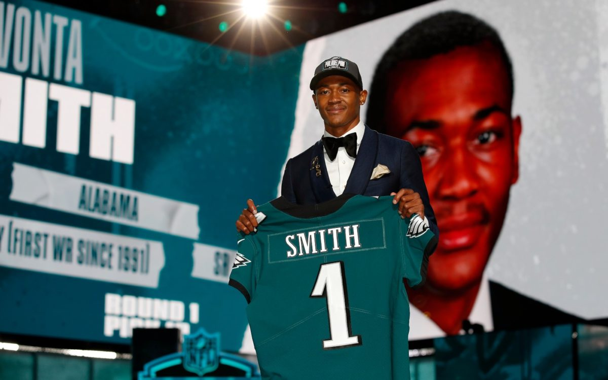 What Are The Odds Of Eagles' DeVonta Smith Winning NFL Offensive Rookie Of The Year?