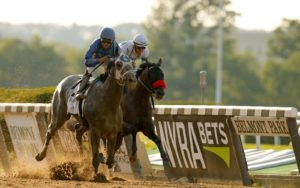 Haskell Stakes First:  Kentucky Derby, Preakness, and Belmont Stakes  Runners-Up Lead Deep Field