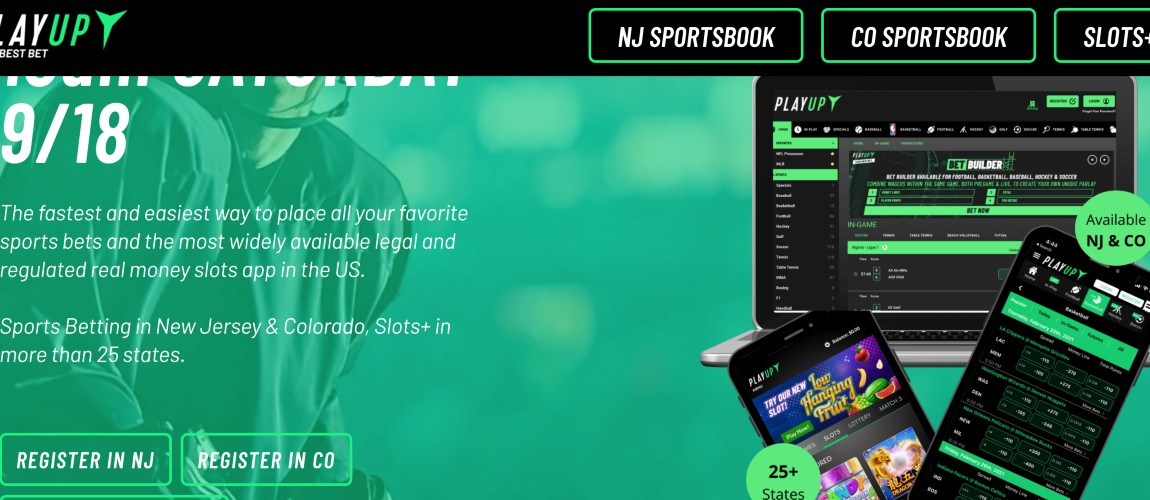 Deuces Wild: PlayUp Makes Garden State Debut With Soft Launch, Makes It 22 NJ Sportsbook Apps